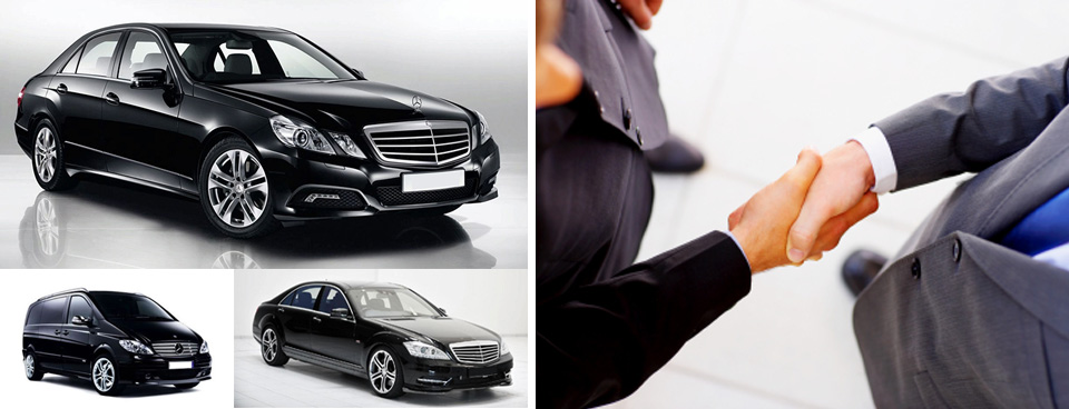 chauffeur-driven limousine : private car transfer at Paris airport